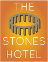 The Stones Hotel Sticky Logo